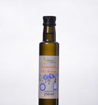 Naturalny olej lniany 250 ml