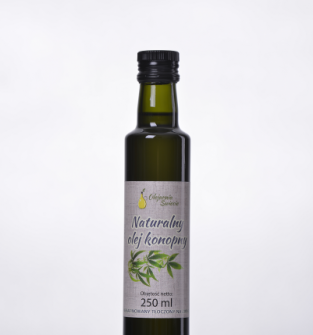 Naturalny olej konopny 250 ml
