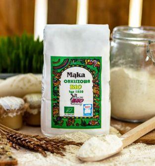 Mąka Orkiszowa typ 1850 1kg  BIO