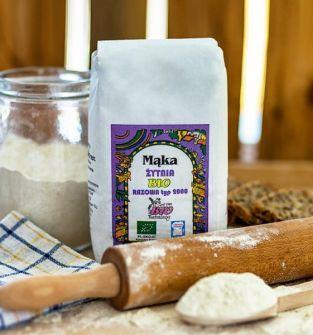 Mąka razowa żytnia BIO  Typ 2000 1kg