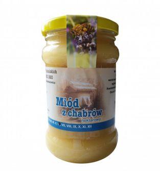 miód z chabrów (bławatka) 400 g - 100% naturalny