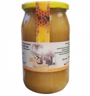 miód lipowy 1100 g - 100% naturalny