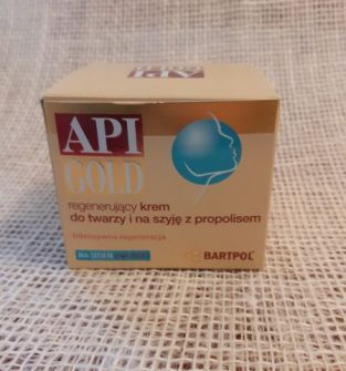 API GOLD – krem propolisowy