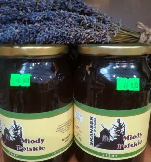 Miód pszczeli leśny