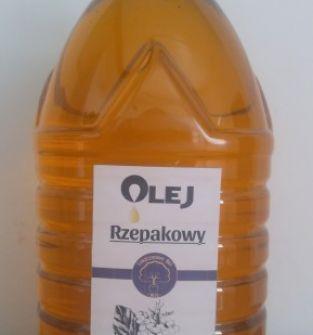 Olej Rzepakowy 5 L