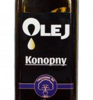 Olej Konopny 500 ml