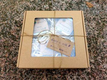Zestaw 3 mydeł w opakowaniu - Box of Nature