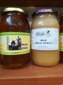 Miód pszczeli lipowy