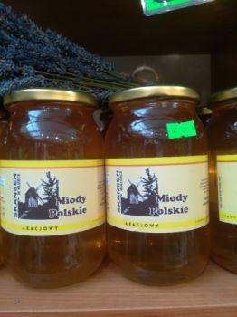 Miód pszczeli akacjowy