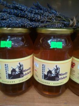 Miód pszczeli rzepakowo-głogowy