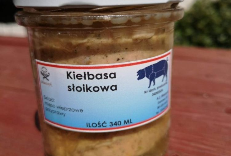 Kiełbasa słoikowa